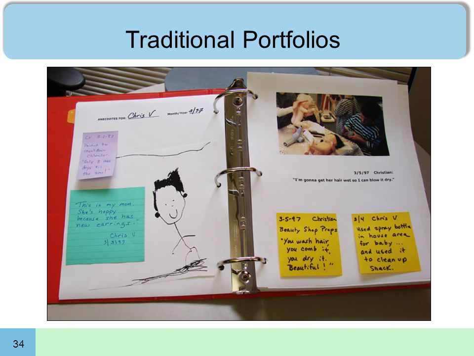 34 Traditional Portfolios