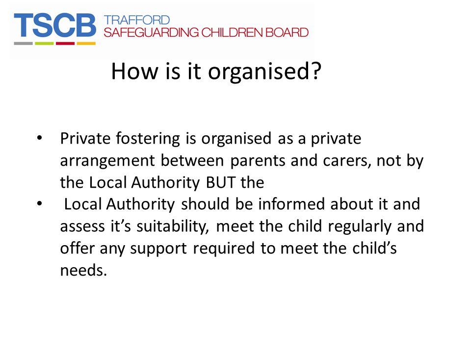 How is it organised.