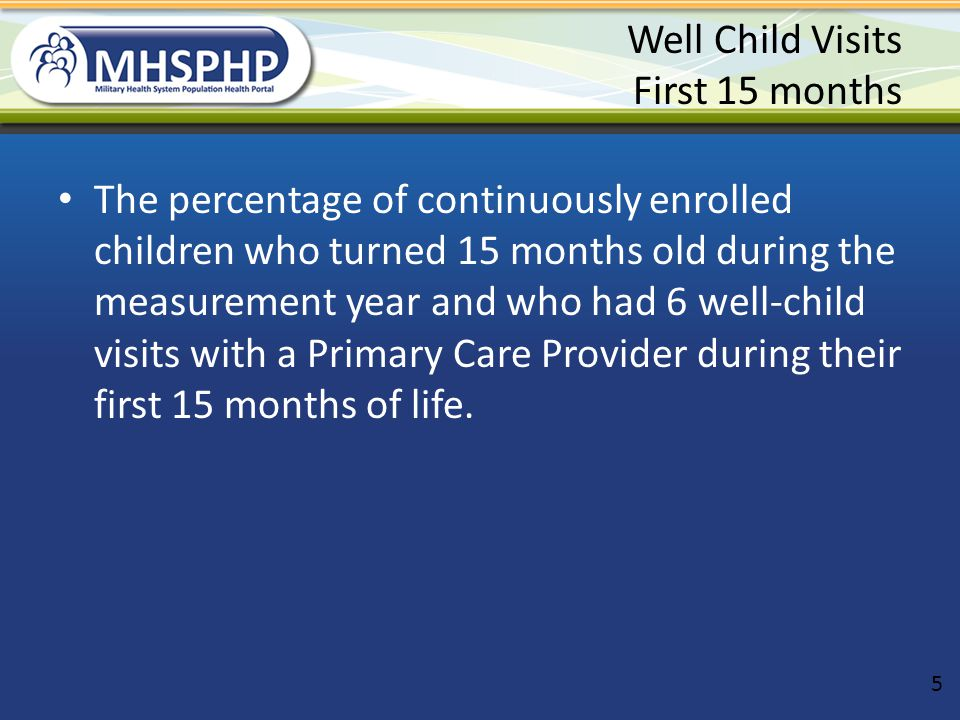 Well Child Reminders Use Excel filter to Select children who are the following ages: – 10.5-11.5 – 7.5-8.5 – 4.5-5.5 – 3.5-4.5 Have Audiocare call these parents and remind them to schedule their next well child appt if it is not already scheduled 26