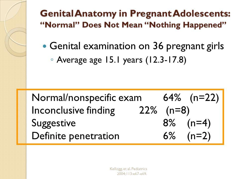 Kellogg, et al. Pediatrics 2004;113:e67-e69.