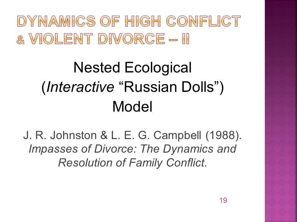 Nested Ecological (Interactive Russian Dolls ) Model J.