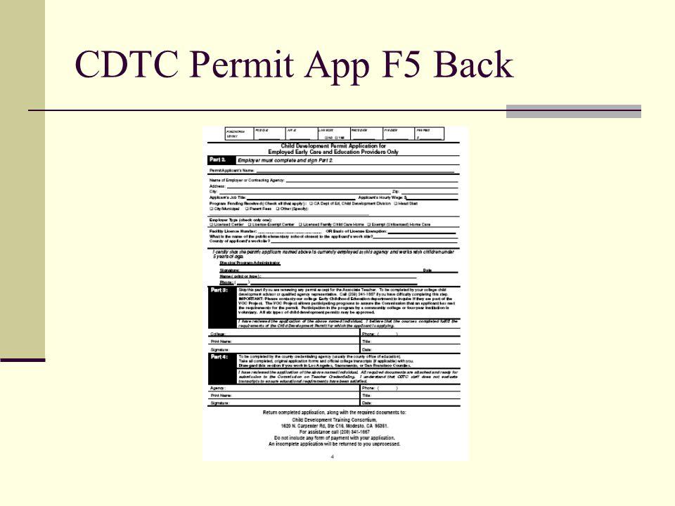 CDTC Permit App F5 Back
