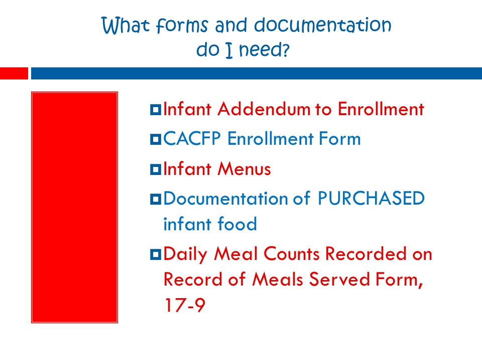 What forms and documentation do I need.