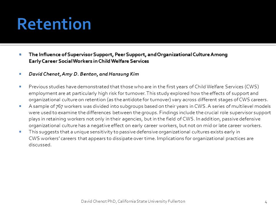 45 David Chenot PhD, California State University Fullerton