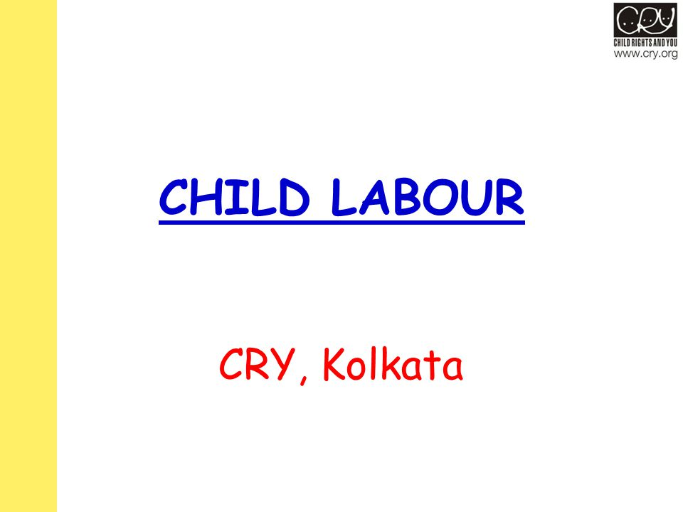 CHILD LABOUR CRY, Kolkata