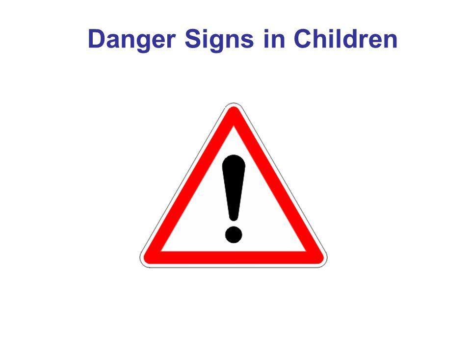 Danger Signs in Children