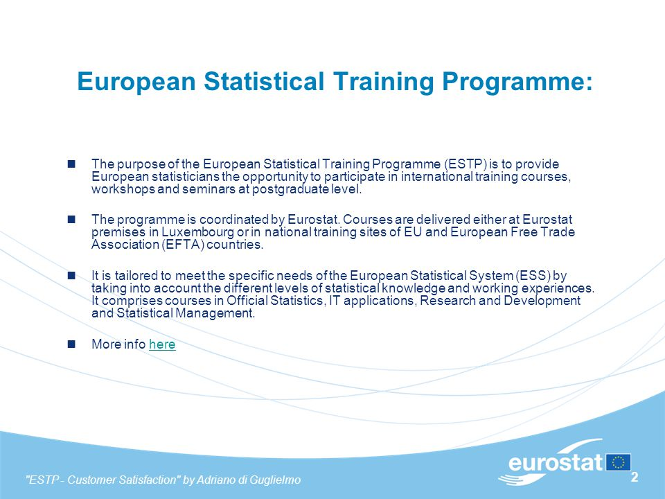 13 Analysis of macro areas - Overall evaluation of the course - Beginners ESTP - Customer Satisfaction by Adriano di Guglielmo