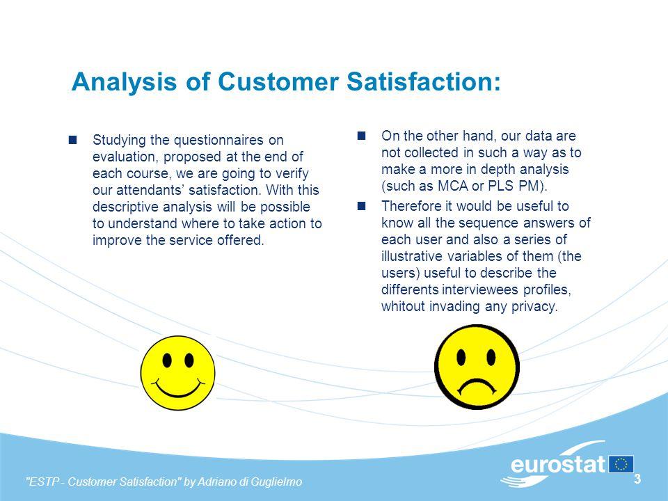 34 Advanced VS Beginners – Training Methods & Support ESTP - Customer Satisfaction by Adriano di Guglielmo