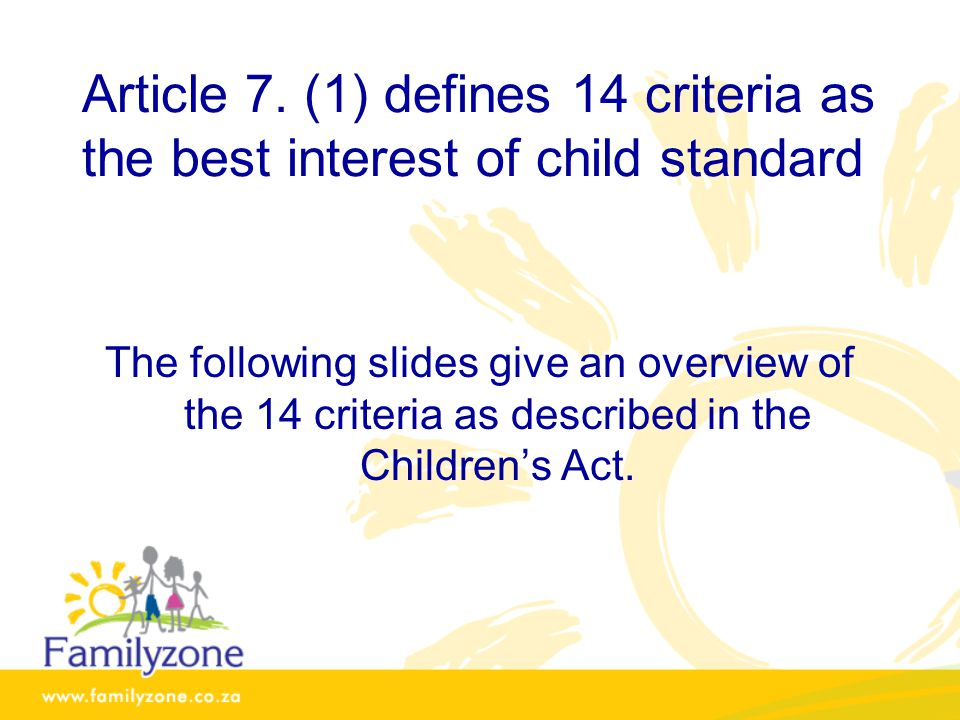 Article 7.