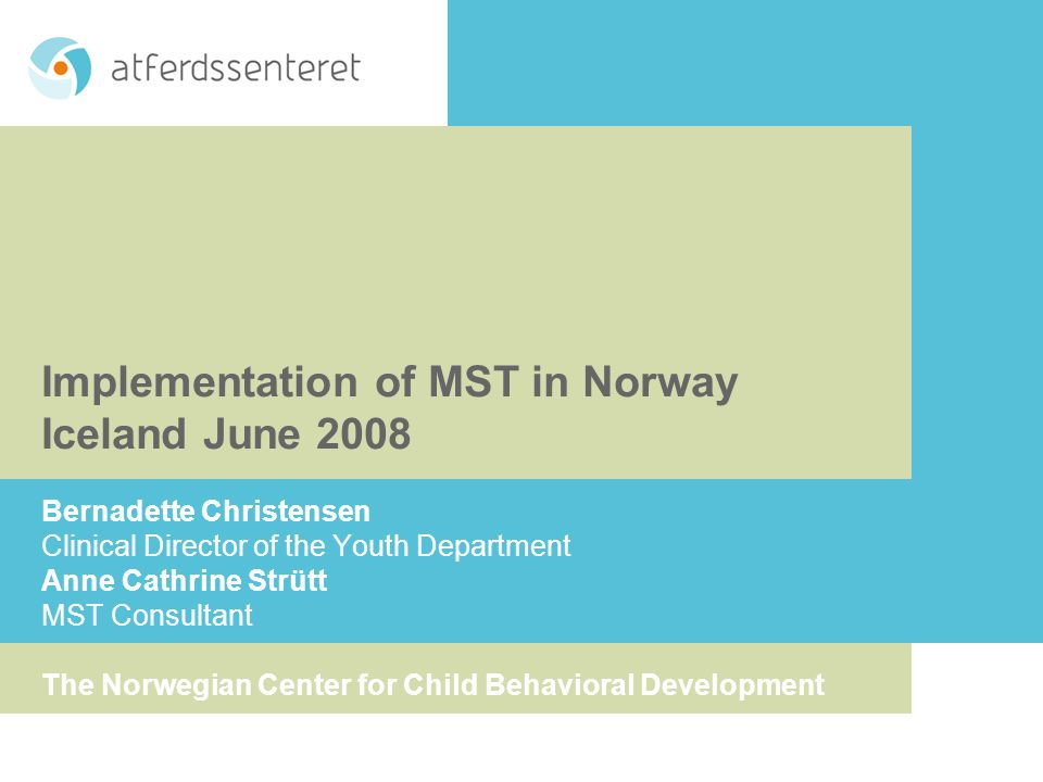 Why MST In Norway.