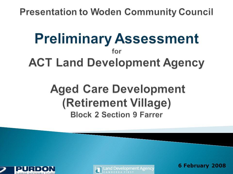 Farrer Aged Care Development Preliminary Assessment 12