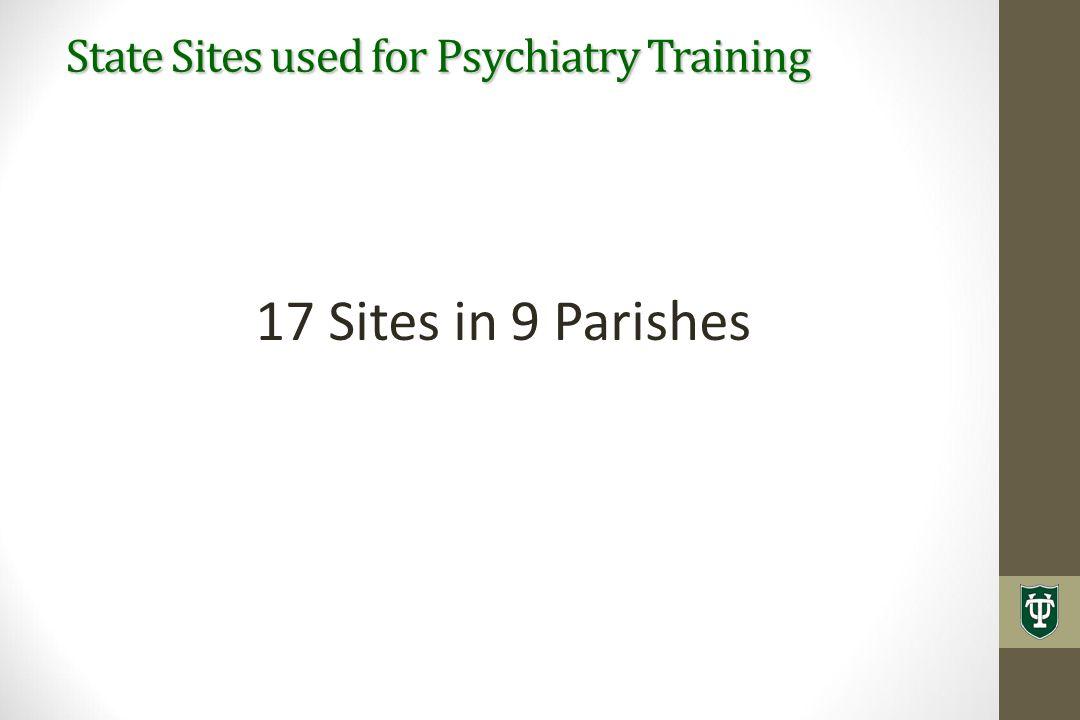 17 Sites in 9 Parishes