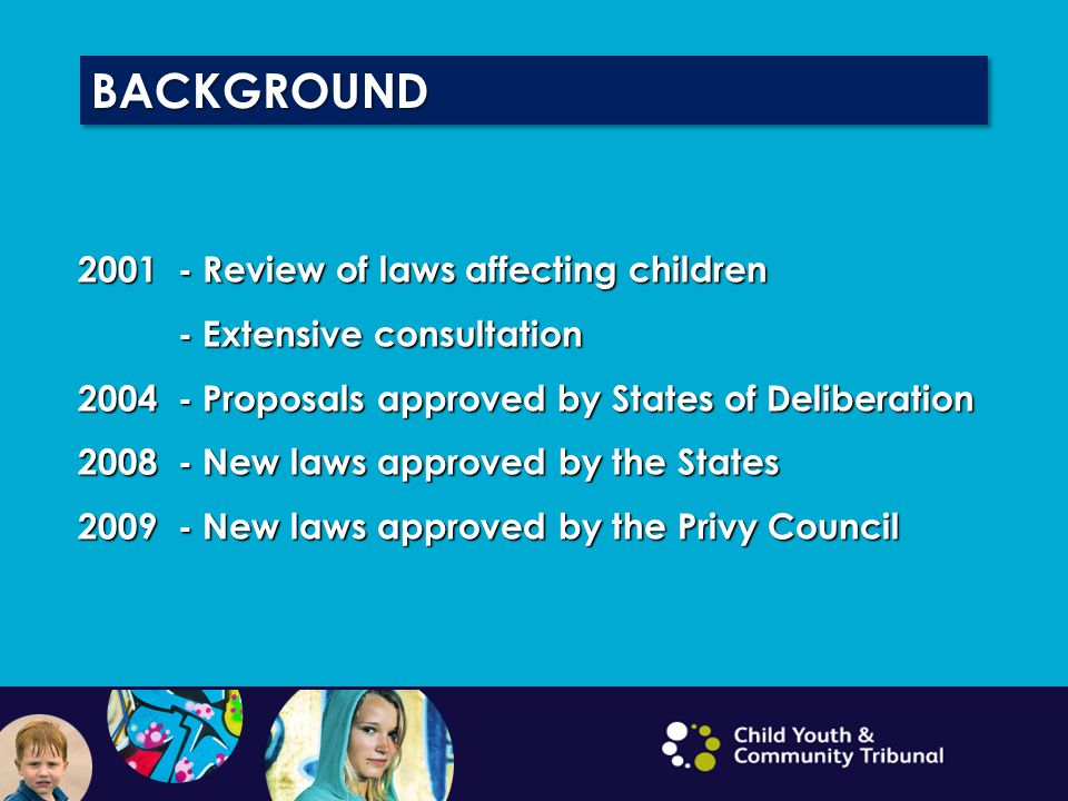 Children (Guernsey and Alderney) Law 2008 Criminal Justice (Children and Juvenile Court Reform) (Bailiwick of Guernsey) Law 2008 The Children (Miscellaneous Provisions) (Guernsey and Alderney) Ordinance 2009 www.guernseylegalresouces.gg KEY LEGISLATION