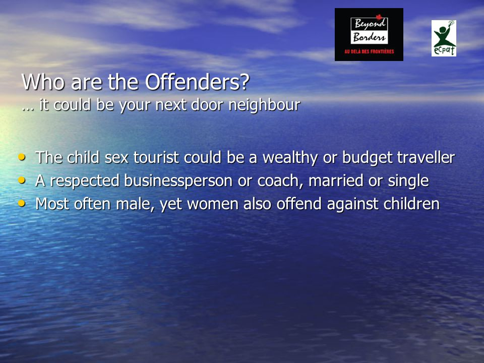 Who are the Offenders.