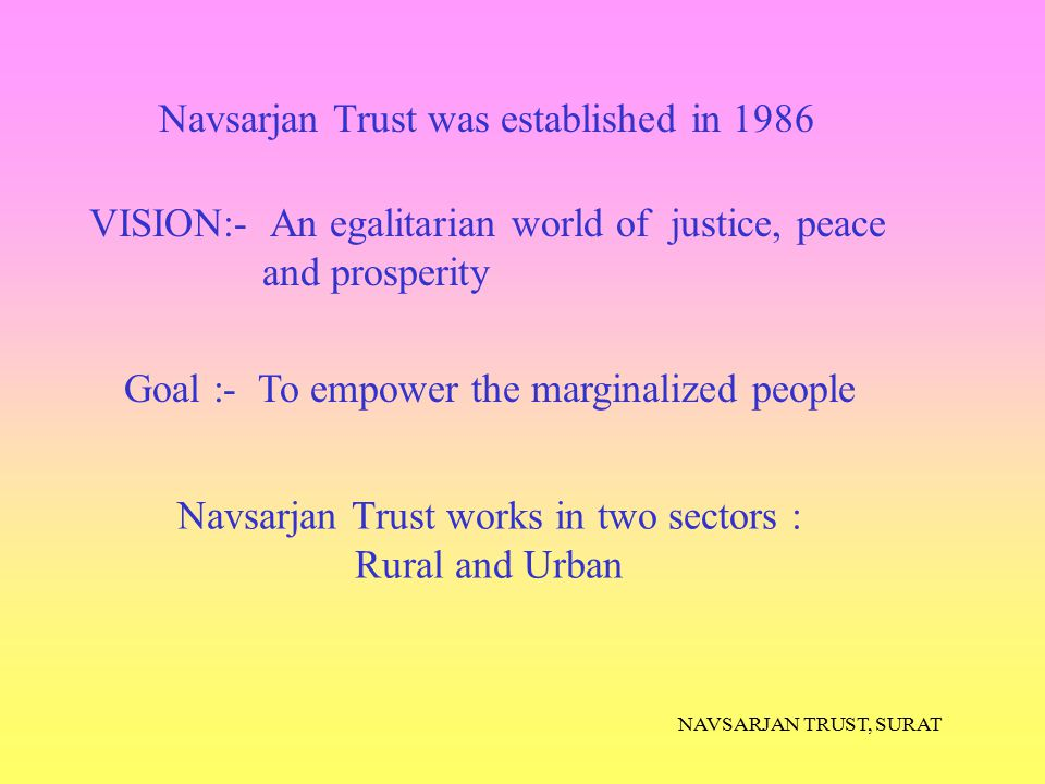 NAVSARJAN TRUST, SURAT They even began co operative with us We conducted painting sessions on the platform.
