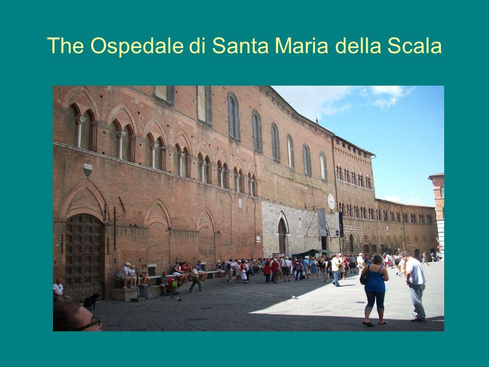 The Ospedale di Santa Maria della Scala