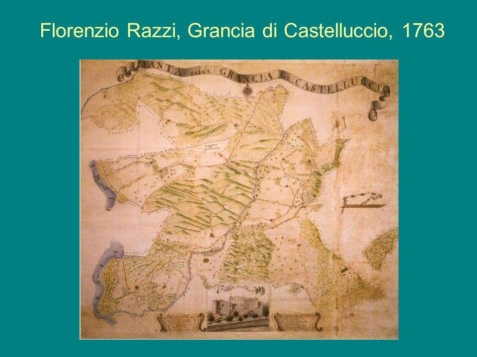 Florenzio Razzi, Grancia di Castelluccio, 1763