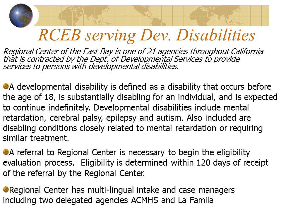 RCEB serving Dev.