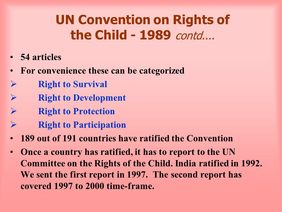 Rights Based Programming How to operationalize the rights principles.