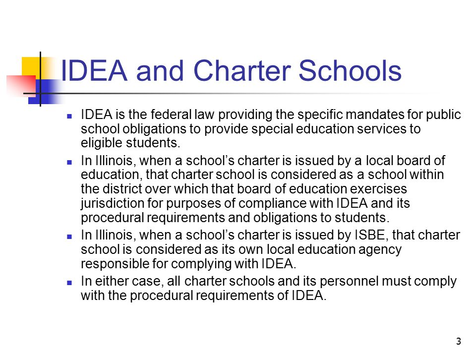 14 Eligibility Consideration of Adverse Affect and Need for Special Education: In order to qualify for services pursuant to the IDEA: The child must have one of the specified disabling conditions or impairments; The impairment must adversely affect educational performance; and The child must, by reason of the disability, need special education and related services.