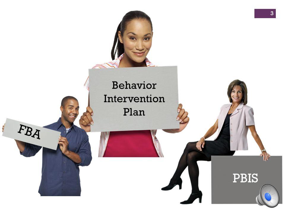 Behavior Intervention Plan FBA PBIS 3