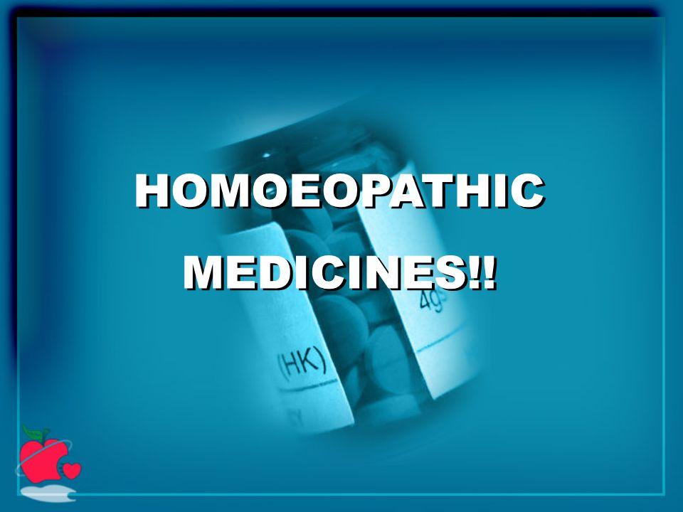 HOMOEOPATHIC MEDICINES!! HOMOEOPATHIC MEDICINES!!
