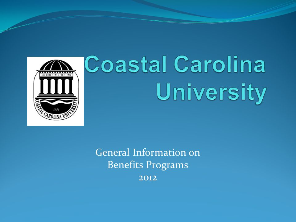 General Information on Benefits Programs 2012