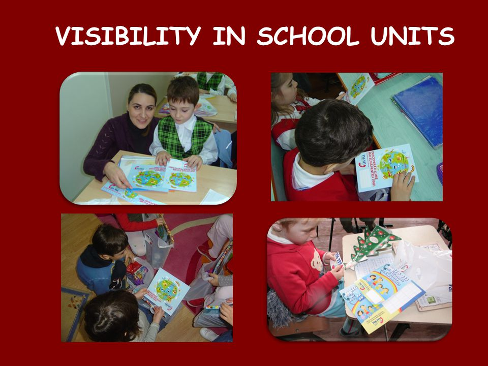 VISIBILITY IN SCHOOL UNITS