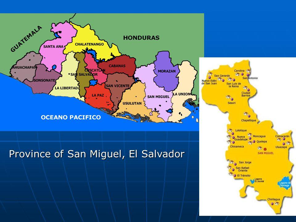Province of San Miguel, El Salvador