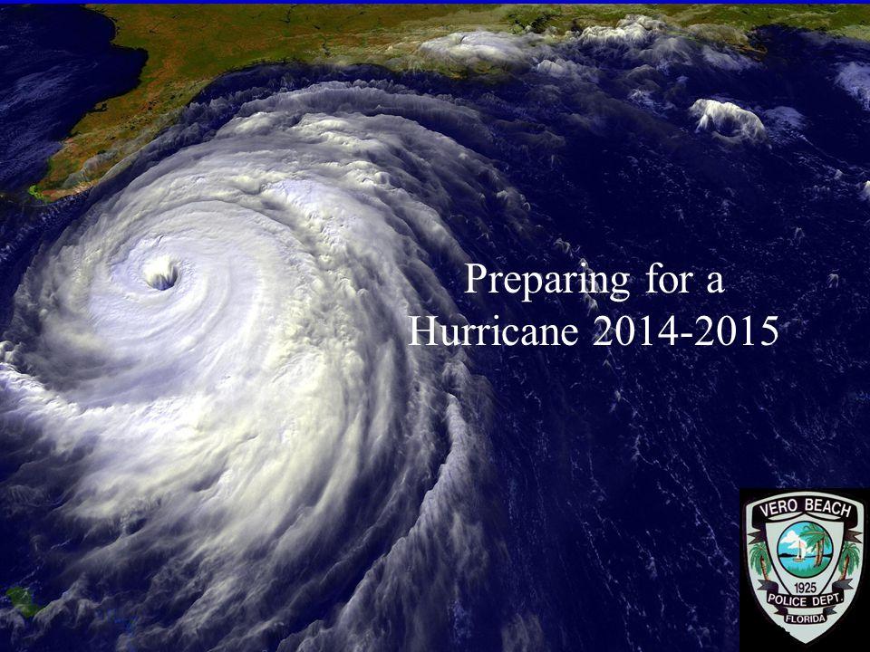 29 Preparing for a Hurricane 2014-2015