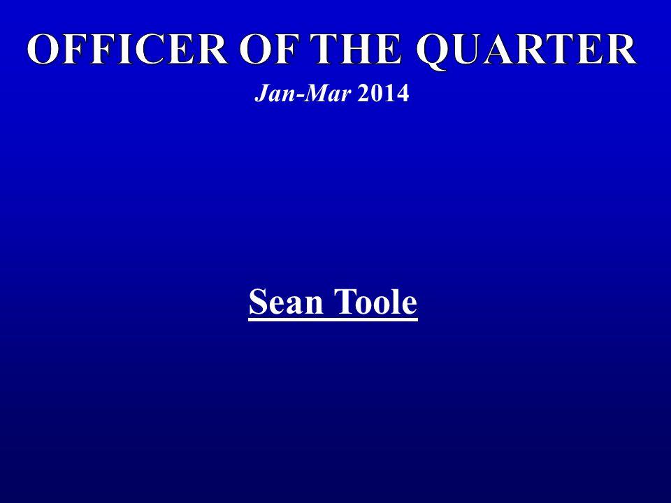 Jan-Mar 2014 Sean Toole
