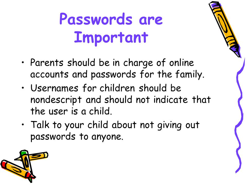In Conclusion Know what your child is doing on the internet.