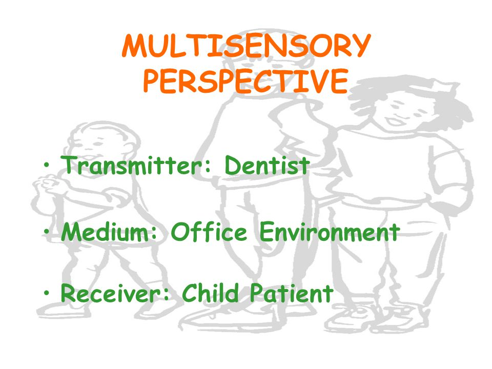 WHEN THE CHILD OWNS THE PROBLEM ENCODING PROCESS CHILD TIRED DECODING PROCESS TIRED When are you going to be finished? Child Dentist