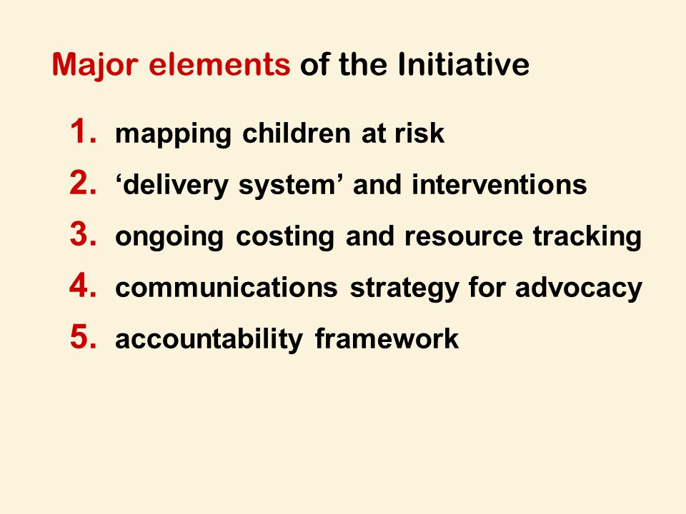 1.mapping children at risk: micro-level targeting and implications for geographic focus