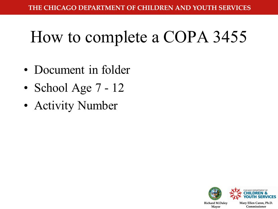 CYS3455 Changes Page 4 Provider Certification Item #10 Revised Date