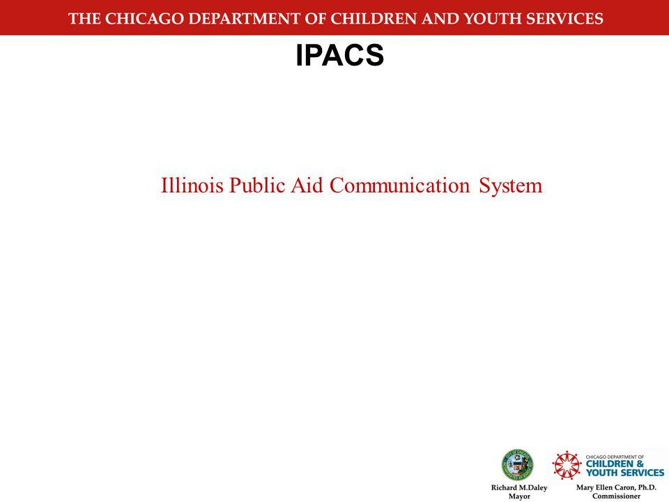 IPACS IDHS Bureau of Child Care and Development June 2006