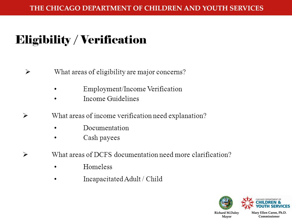 Top Topics for Discussion COPA Eligibility and Verification IMEDGE IPACS