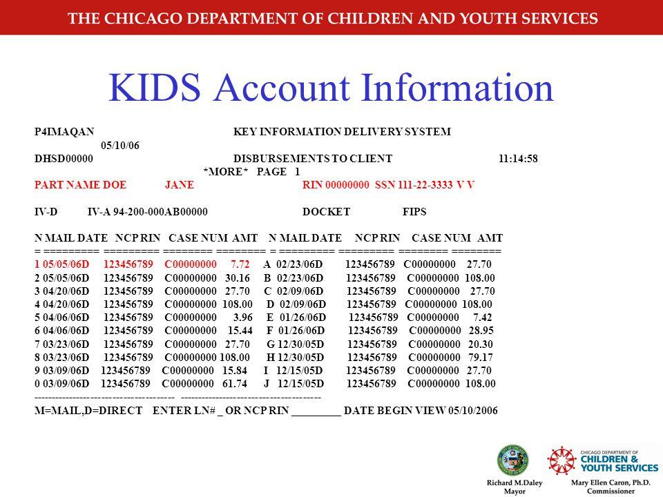 KIDS Case Information P0IMAOXX KEY INFORMATION DELIVERY SYSTEM 04/17/02 DHSDXXXX IV-D CASE INQUIRY PARTICIPANT LIST 11:56:30 PAGE: 1 IV-D NUM: C000000