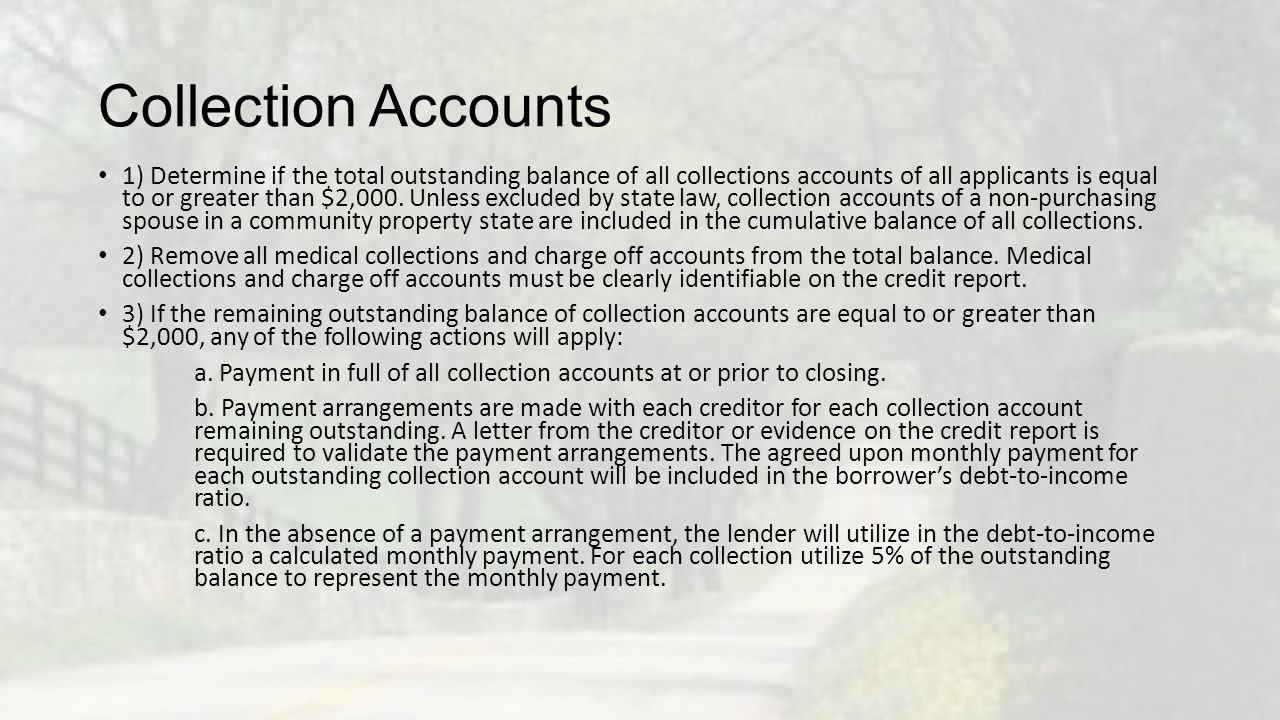 Disputed Accounts Disputed accounts are not considered in the score calculation for the borrower's credit scores.