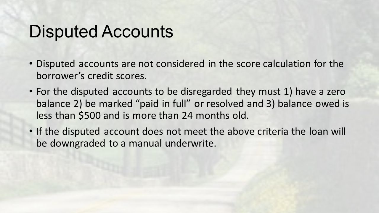 Assets: If assets are listed in the application, then 2 months bank statements MUST be provided.