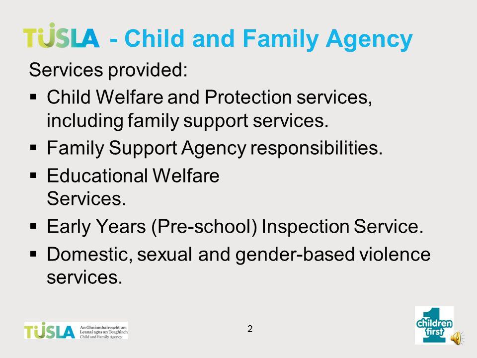 1 Children First National Guidance 2011 Presentation