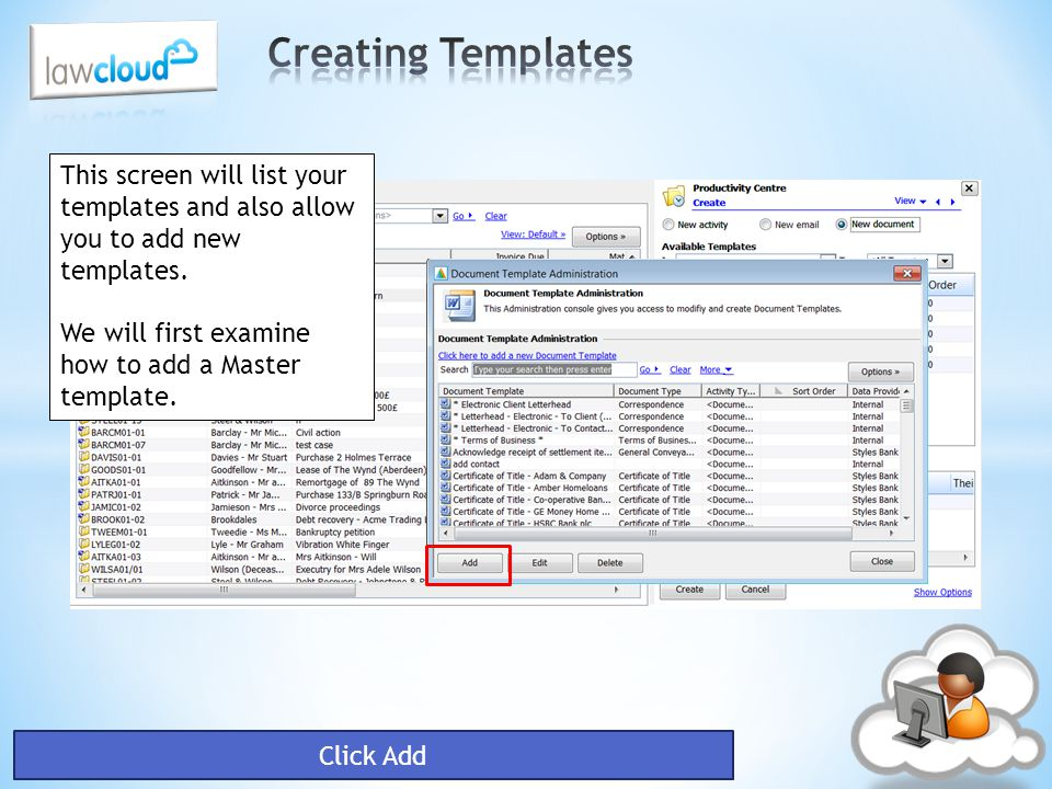 You do not have to create master and child templates, you can simply create a template within Word and use the LawWare fields.