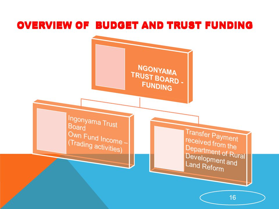 OVERVIEW OF BUDGET AND TRUST FUNDING 16 OVERVIEW OF BUDGET AND TRUST FUNDING