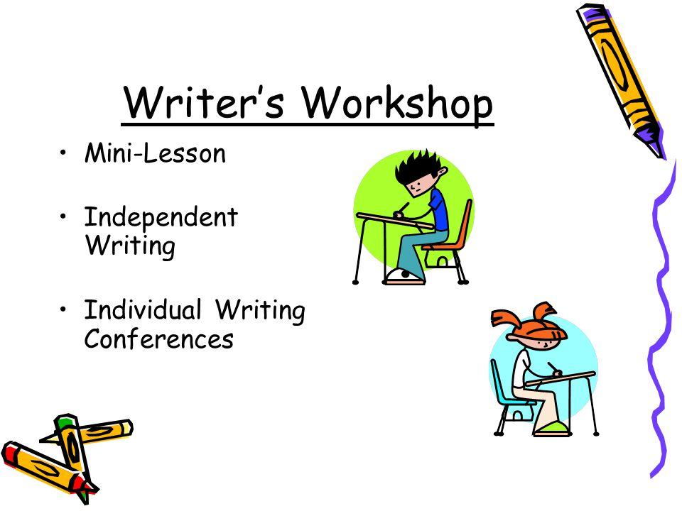 Writer's Workshop Mini-Lesson Independent Writing Individual Writing Conferences
