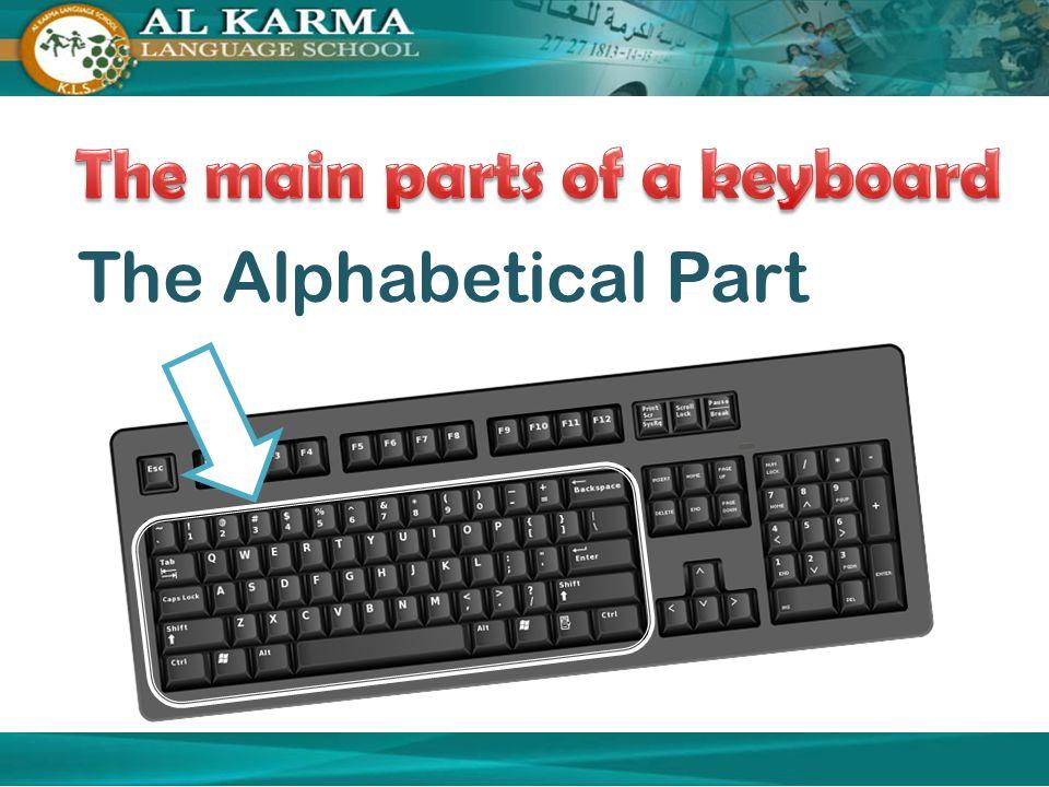 The Alphabetical Part