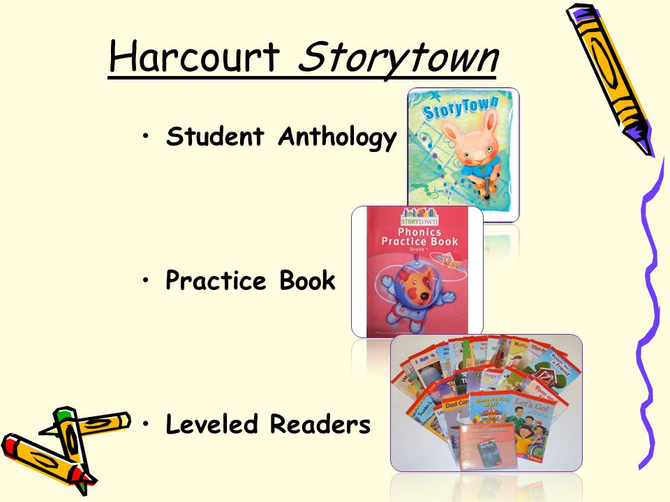 Harcourt Storytown Student Anthology Practice Book Leveled Readers