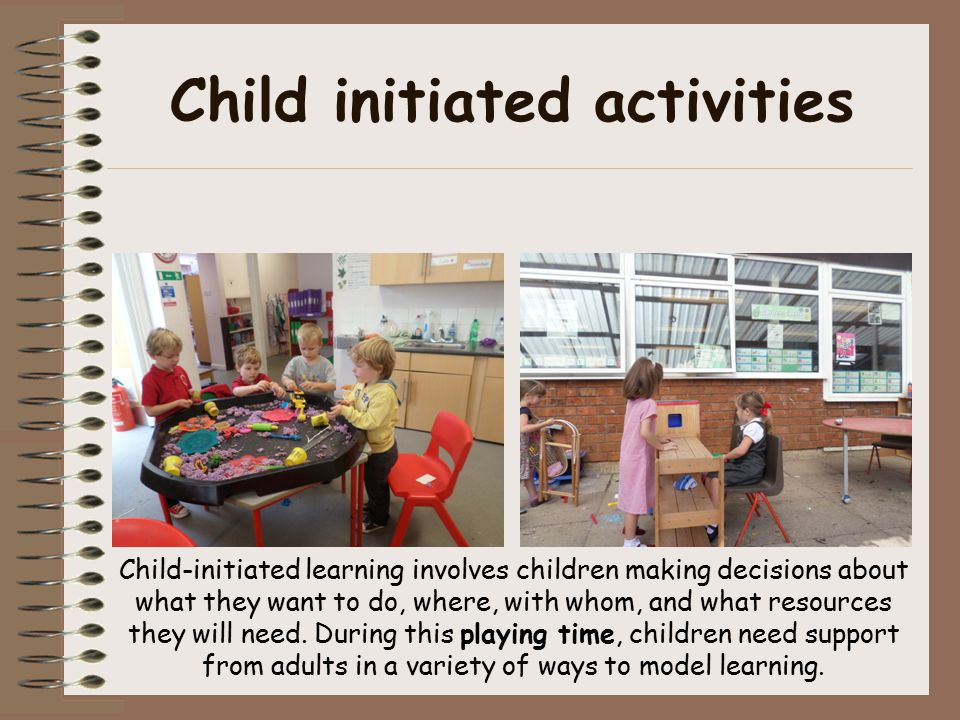 Personal, social and emotional development This is pivotal area in Foundation Stage on which all learning hinges.