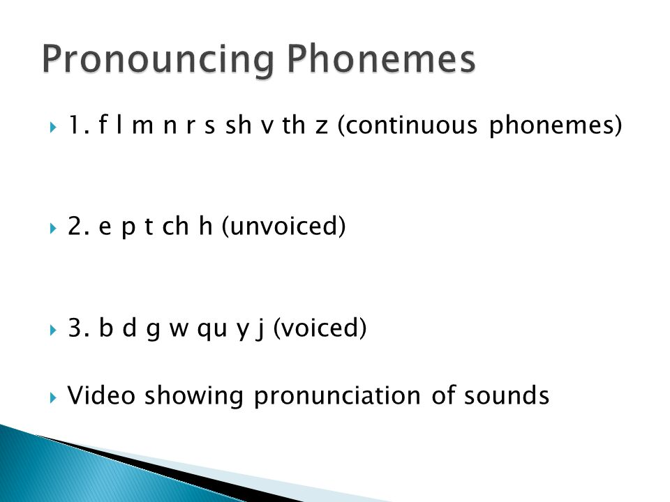 Phoneme – smallest unit of sound in a word. Grapheme – a letter or sequence of letters that represents a phoneme.