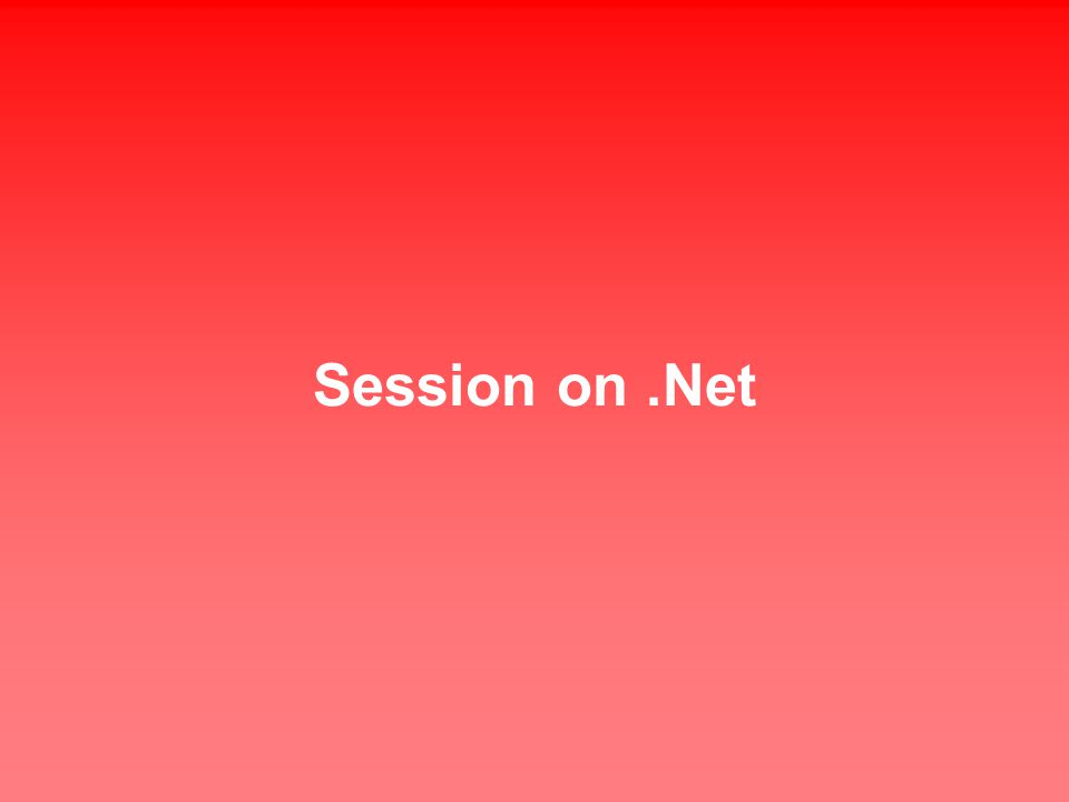 Session on.Net