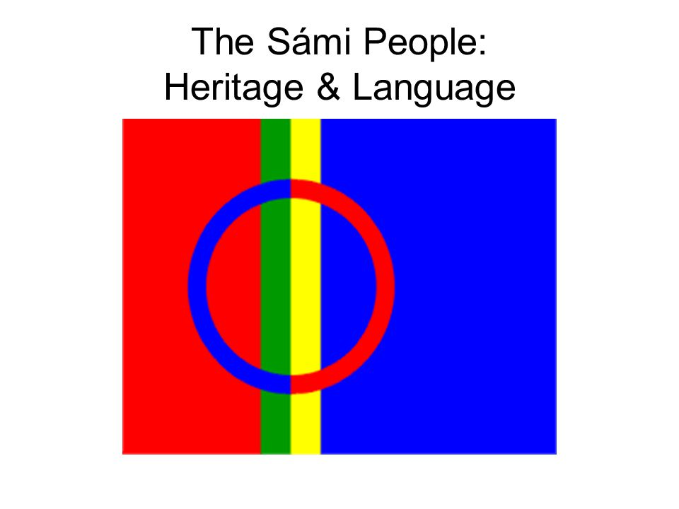 The Sámi People: Heritage & Language